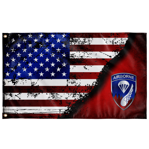 "187th Infantry Stars & Stripes Flag Elite Flags Wall Flag - 36""x60"""