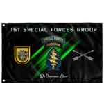 "1st Special Forces Group Flag Elite Flags Wall Flag - 36""x60"""