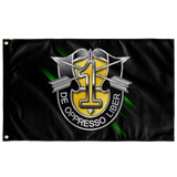"1st Special Forces Group Numeral Flag Elite Flags Wall Flag - 36""x60"""