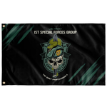 "1st Special Forces Group Snake Eaters Flag Elite Flags Wall Flag - 36""x60"""