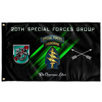 "20th Special Forces Group Flag Elite Flags Wall Flag - 36""x60"""