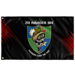 "2nd Ranger Battalion Snake Eaters Flag Elite Flags Wall Flag - 36""x60"""