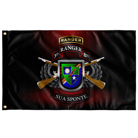 "3/75  Battalion Tabbed Ultimate Flag Elite Flags Wall Flag - 36""x60"""
