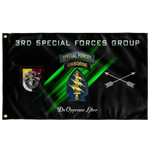 "3rd Special Forces Group Flag Elite Flags Wall Flag - 36""x60"""