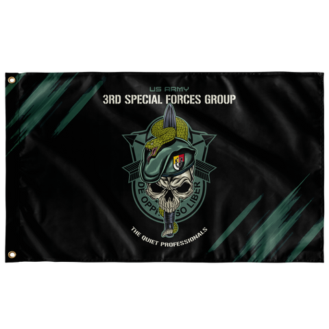 "3rd Special Forces Group Snake Eaters Flag Elite Flags Wall Flag - 36""x60"""