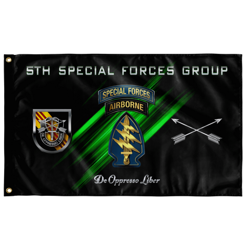 "5th Special Forces Group Flag Elite Flags Wall Flag - 36""x60"""