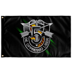 5th Special Forces Group Numeral Flag