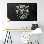 "5th Special Forces Group Numeral Flag Elite Flags Wall Flag - 36""x60"""