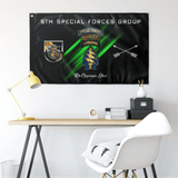 "5th Special Forces Group Tabbed Flag Elite Flags Wall Flag - 36""x60"""