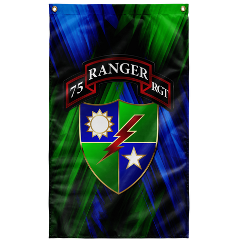 "75th Regimental Flag Elite Flags Wall Flag - 36""x60"""