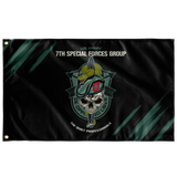 "7th Special Forces Group Snake Eaters Flag Elite Flags Wall Flag - 36""x60"""