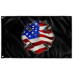 "American Firefighter Flag Elite Flags Wall Flag - 36""x60"""