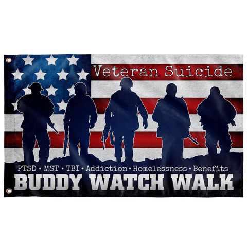 Buddy Walk Watch Outdoor Flag Elite Flags