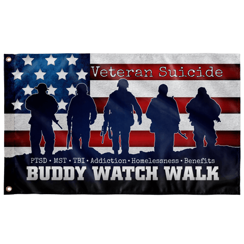 "Buddy Watch Walk Flag Elite Flags Wall Flag - 36""x60"""