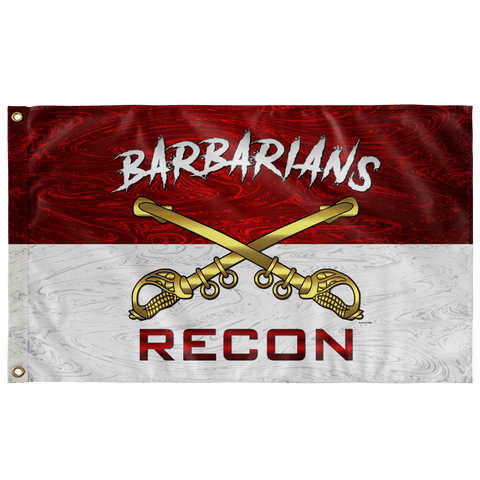 "Cavalry Barbarians Recon Flag Elite Flags Wall Flag - 36""x60"""