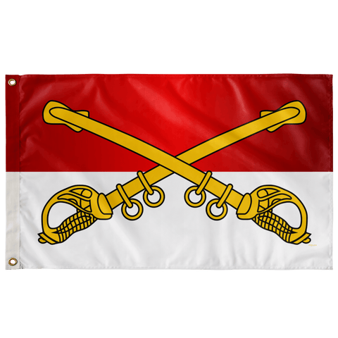 "Cavalry Branch Flag Elite Flags Wall Flag - 36""x60"""