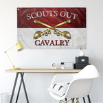"Cavalry Scouts Out Flag Elite Flags Wall Flag - 36""x60"""