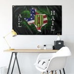 "Custom 1st ID All Hail Flag Elite Flags Wall Flag - 36""x60"""
