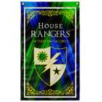 "Custom House Rangers Flag Elite Flags Wall Flag - 36""x60"""
