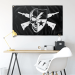 "Custom Ranger Regiment Pirate Flag Elite Flags Wall Flag - 36""x60"""