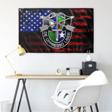 "Custom Ranger Special Forces US Flag Elite Flags Wall Flag - 36""x60"""