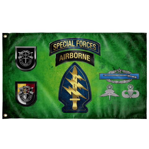 "Custom SF Group Outdoor Flag Elite Flags Double-sided 36"" X 60"""