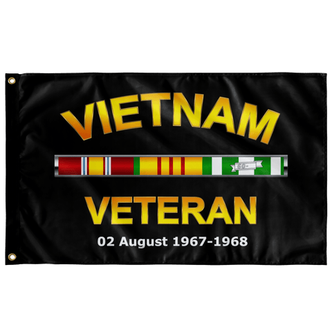 "Custom Vietnam Veteran Flag Elite Flags Wall Flag - 36""x60"""