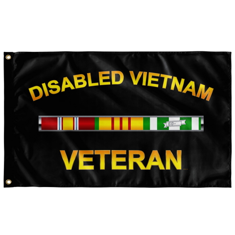 "Disabled Vietnam Flag Elite Flags Wall Flag - 36""x60"""