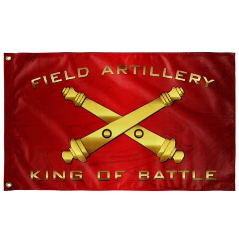 DS Field Artillery Flag Elite Flags