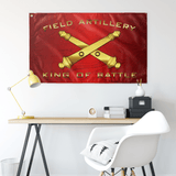 "Field Artillery King of Battle Flag Elite Flags Wall Flag - 36""x60"""