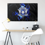 "Fort Wayne Police Flag Elite Flags Wall Flag - 36""x60"""