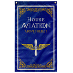"House Aviation Flag Elite Flags Wall Flag - 36""x60"""