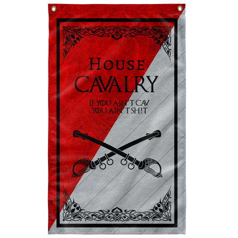 "House Cavalry Flag V2 Elite Flags Wall Flag - 36""x60"""