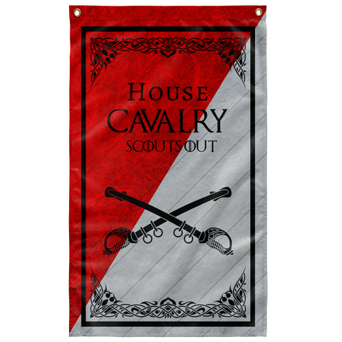 "House Cavalry Flag Elite Flags Wall Flag - 36""x60"""