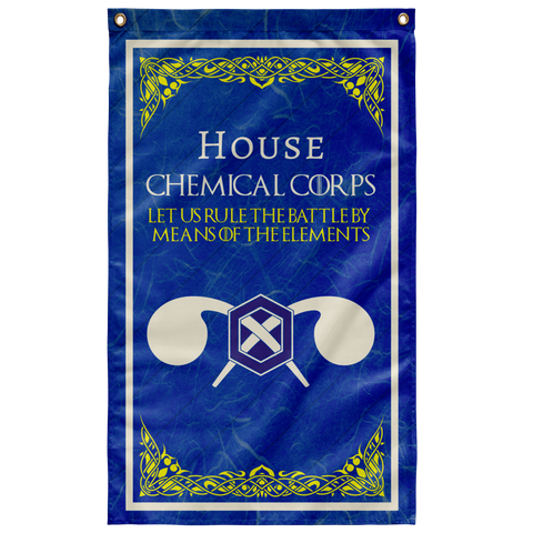 "House Chemical Corps Flag Elite Flags Wall Flag - 36""x60"""