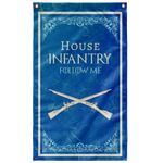 "House Infantry Flag Elite Flags Wall Flag - 36""x60"""
