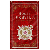 "House Logistics Flag Elite Flags Wall Flag - 36""x60"""
