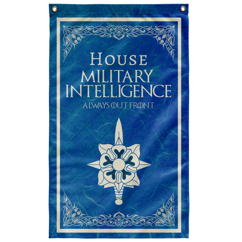 "House Military Intelligence Flag Elite Flags Wall Flag - 36""x60"""