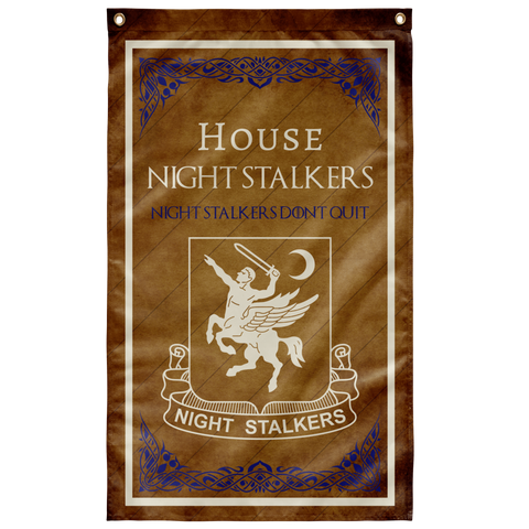 "House Night Stalkers Flag Elite Flags Wall Flag - 36""x60"""