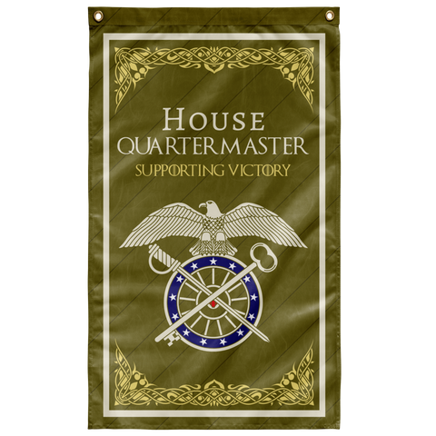 "House  Quartermaster Flag Elite Flags Wall Flag - 36""x60"""