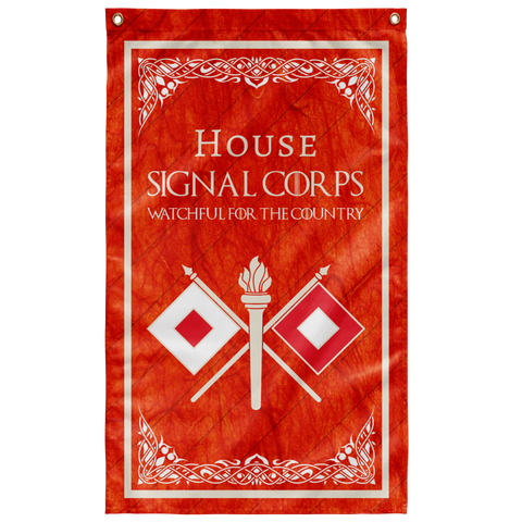 "House Signal Flag Elite Flags Wall Flag - 36""x60"""