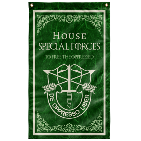 "House Special Forces DUI Flag Elite Flags Wall Flag - 36""x60"""
