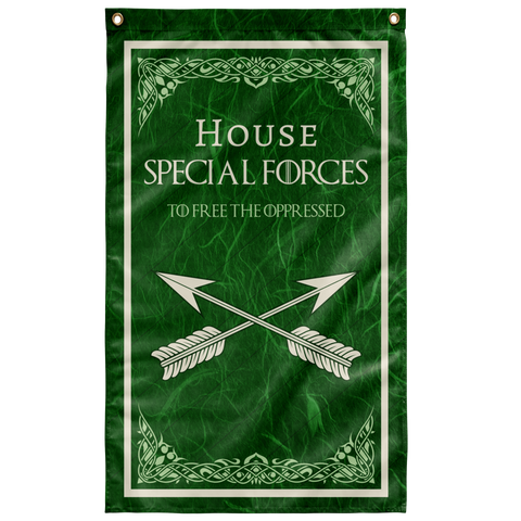 "House Special Forces Flag Elite Flags Wall Flag - 36""x60"""