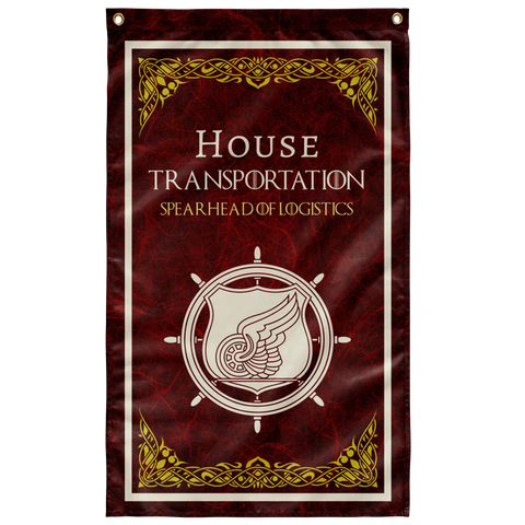 "House Transportation Flag Elite Flags Wall Flag - 36""x60"""