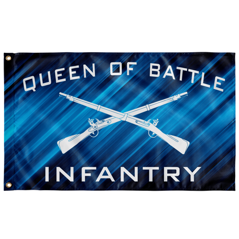 "Infantry Queen of Battle Flag Elite Flags Wall Flag - 36""x60"""