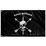 "Nous Defions Custom Flag Elite Flags Wall Flag - 36""x60"""