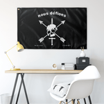 "Nous Defions Custom Elite Flags Wall Flag - 36""x60"""