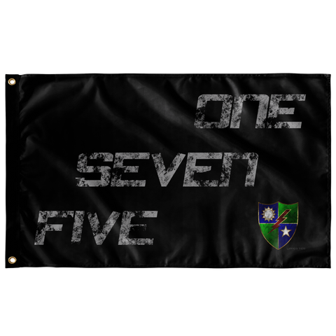 "One Seven Five Flag Elite Flags Wall Flag - 36""x60"""