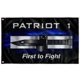 "Patriot 1 Expert Solider Badge flag Elite Flags Wall Flag - 36""x60"""
