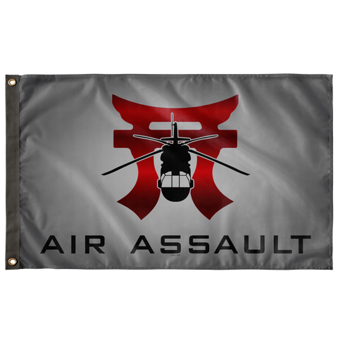 "Rakkasans Grey Air Assault Flag Elite Flags Wall Flag - 36""x60"""